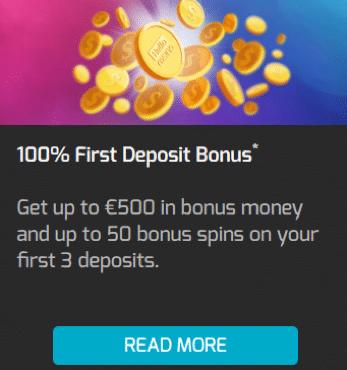Helloカジノで初回入金ボーナスの100%最大€100+25フリースピン
