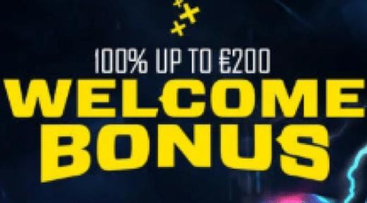 Energy Casinoで初回入金ボーナスの100%最大€200