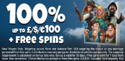 Conquer Casinoで初回入金ボーナスの100%最大$100+Starburstで10フリースピン