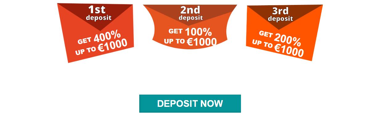 ♦ Casino Superlinesでウェルカムパケッージの最大€3000