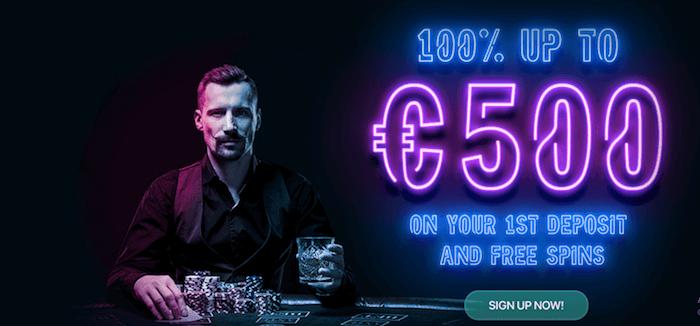 ♦ Rush Casinoでウェルカムボーナス:100%最大€500+Book of Deadで50フリースピン